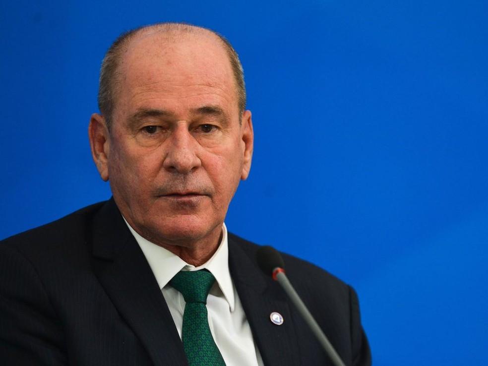 Ministro da Defesa, Fernando Azevedo e Silva. — Foto: Marcello Casal Jr/Agência Brasil
