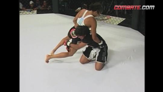 Relembre última luta de Amanda Nunes no Brasil antes do UFC, no Bitetti Combat