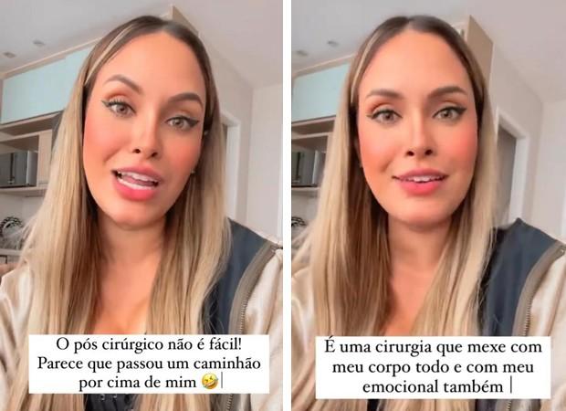 Sarah Andrade fala sobre plásticas (Foto: Reprodução Instagram)