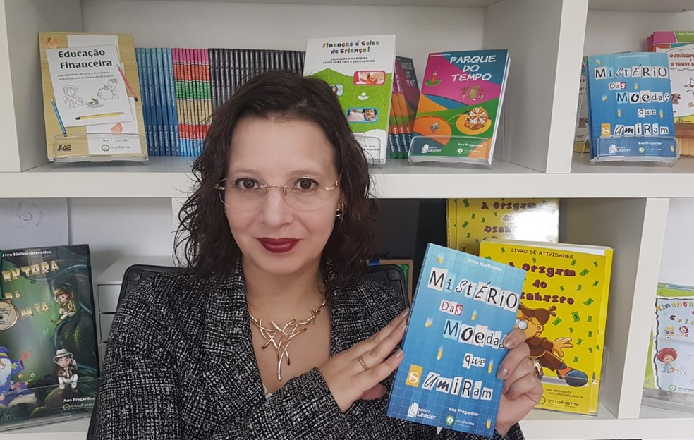 Ana Pregardier foi convidada pela Academia de Letras, Artes e Cultura do Brasil para tornar-se Membro Vitalício  — Foto: Divulgação