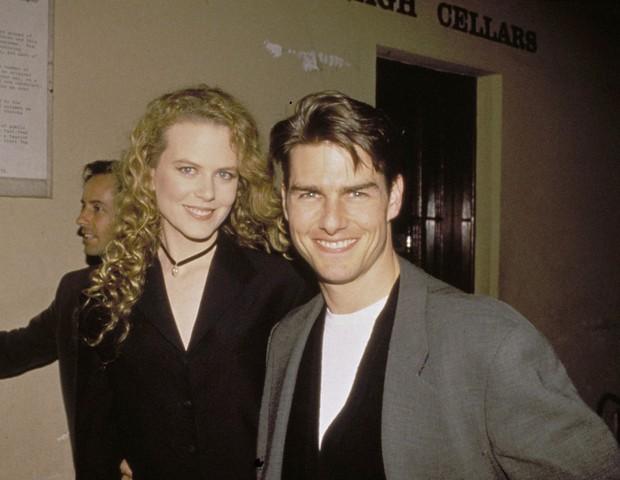 Nicole Kidman e Tom Cruise em 1993 (Foto: Getty Images)