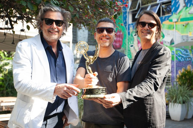 Fabiano Gullane, Daniel Rezende e Caio Gullane (Foto: Bruno Berganton )