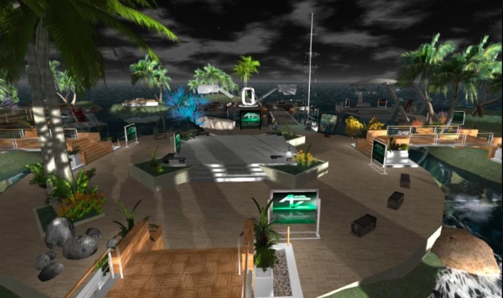 Second Life foi pioneiro no ramo, mas já existem outros concorrentes de peso — Foto: Reprodução/Felipe Vinha