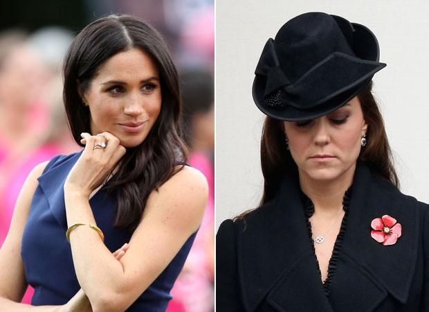 A relação entre Meghan Markle e Kate Middleton não seria tão boa (Foto: Getty Images)