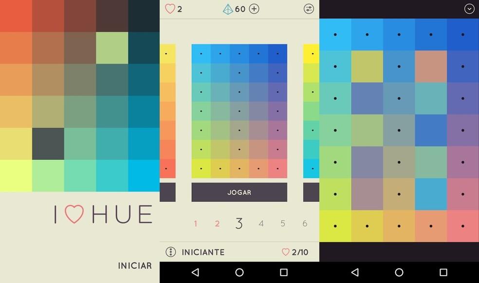 I Love Hue: relaxe com padrões de cores e músicas tranquilas (Foto: Reprodução/Bruno Soares)