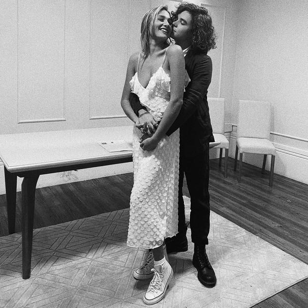 Sasha Meneghel e João Figueiredo se casam no civil (Foto: Reprodução/Instagram)