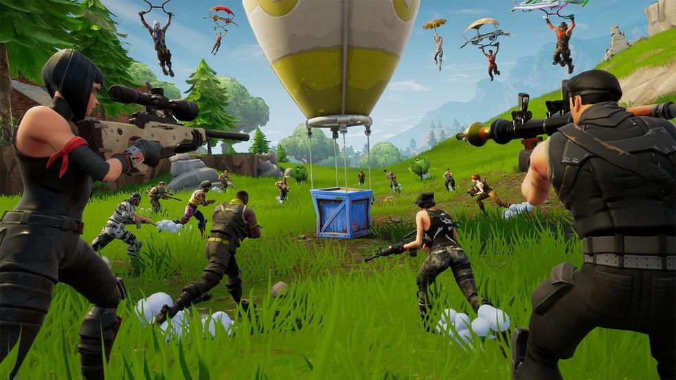 Fortnite e outros Battle Royales já sofreram com bugs durante competições — Foto: Divulgação/Epic Games
