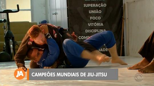 Pelotenses colecionam medalhas no Jiu-Jitsu