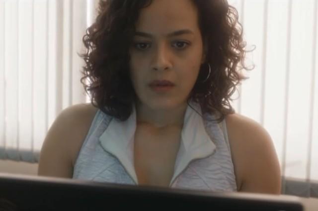 Maeve Jinkings é Joana em 'Onde nascem os fortes' (Foto: Reprodução)