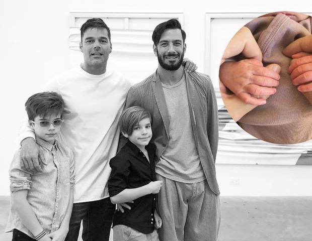 Ricky Martin anuncia nascimento da filha (Foto: Instagram/Reprodução)
