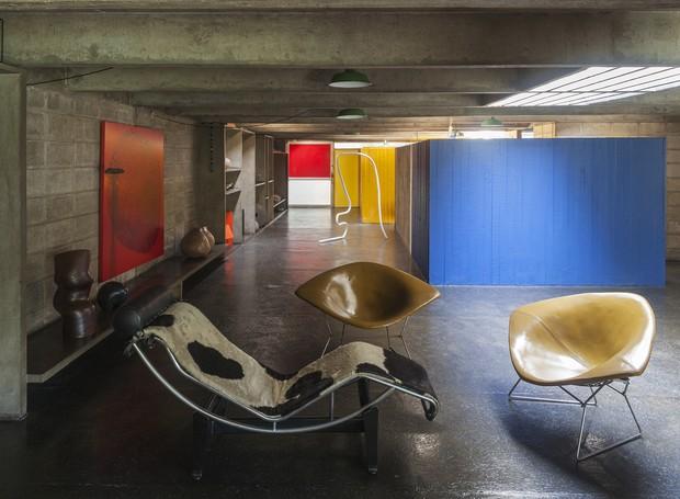 A Casa Tomie Ohtake foi projetada pelo filho da artista, Ruy Ohtake  (Foto: Leonardo Finotti/ Acervo CA)