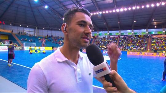 Neto fala sobre a carreira no Futsal