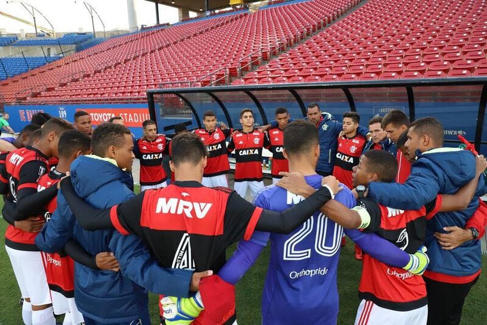 Flamengo venceu os cinco jogos na competição nos EUA (Foto: Divulgação)