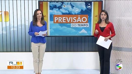 Meteorologia prevê risco de temporal a qualquer hora do dia no Sul do Rio