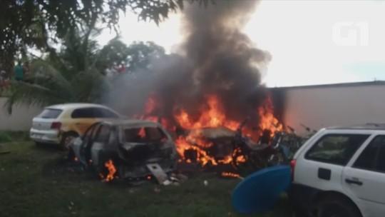 Polícia identifica quatro suspeitos de incendiar delegacia no interior do AM
