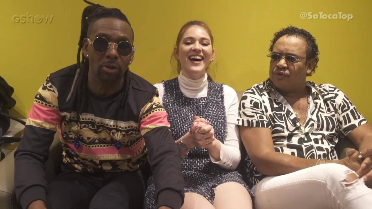 Ana Clara entrevista os convidados do 'SóTocaTop'