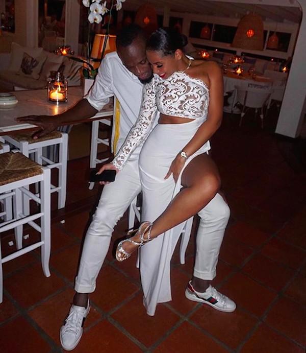 A namorada do ex-velocista Usain Bolt, a empresária Kasi Bennett (Foto: Instagram)