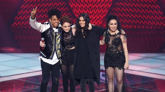 Carol Biazin, Day, Samantha Ayara e Vinicius d'Black são os finalistas do 'The Voice Brasil'
