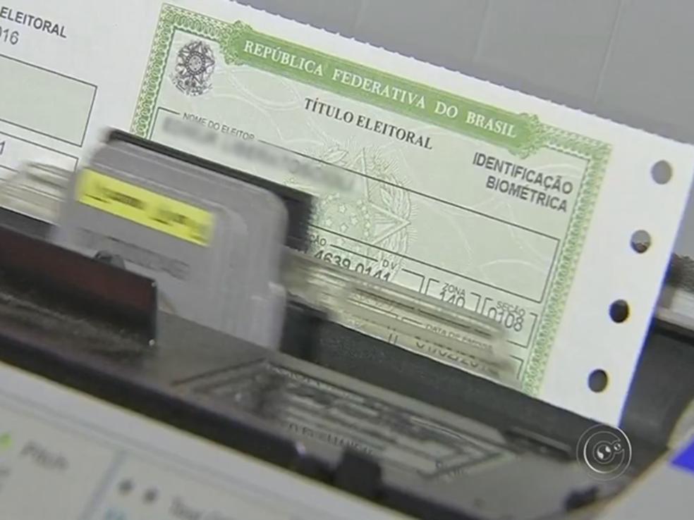Até 9 de maio  o TRE-CE espera ultrapassar o cadastramento biométrico de 75% do eleitorado cearense (Foto: Reprodução)