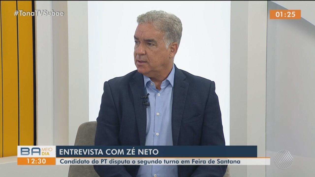 Candidato Zé Neto fala sobre campanha para a prefeitura de Feira de Santana
