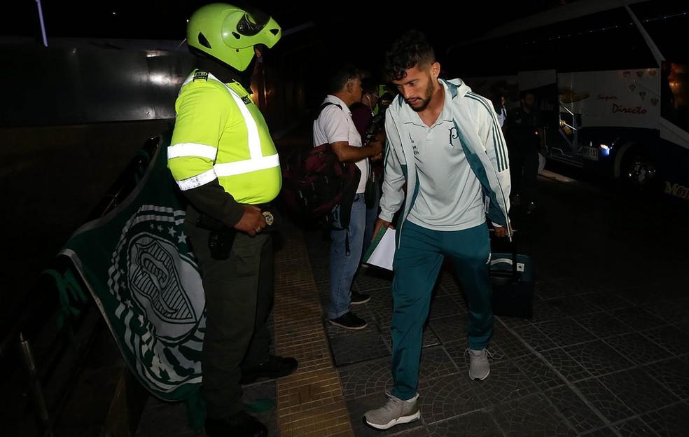 Gustavo Scarpa não tem condições legais de atuar pelo Palmeiras (Foto: Cesar Greco / Ag. Palmeiras)