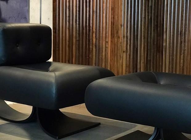 Poltrona Anna, de Oscar Niemeyer (Foto: Divulgação)