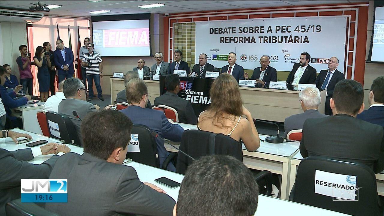 Em seminário, deputados em São Luís sugerem simplificação em texto da reforma tributária - Notícias - Plantão Diário