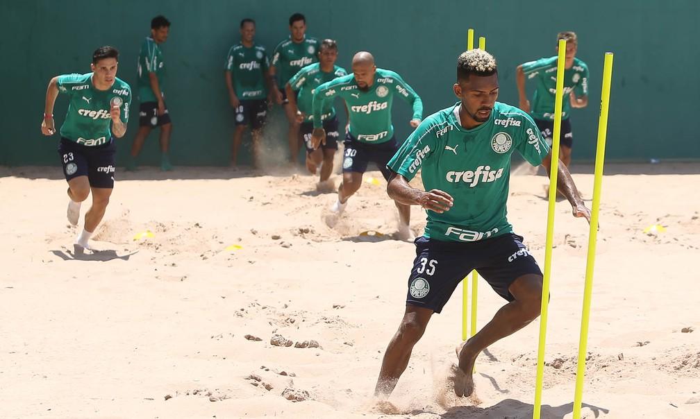 Matheus Fernandes Palmeiras — Foto: César Greco/Ag.Palmeiras