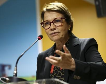 """""""Não tem nada contra o agro"""", diz ministra da Agricultura sobre demora em medidas de apoio na pandemia"""