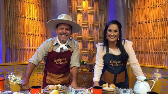 Coloque a mão na massa e mostre suas receitas nas redes sociais com a hashtag #CozinhaDeGalpão