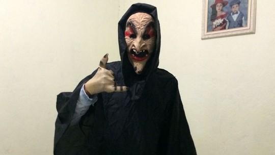 'Brincadeira', diz jovem que se vestiu de 'palhaço sinistro' em avenida de SP