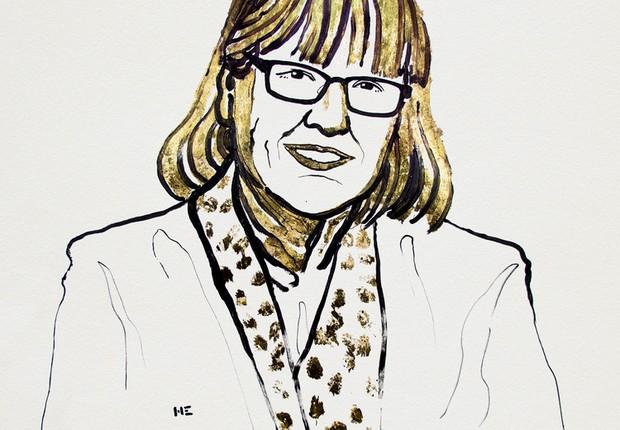A canadense Donna Strickland foi uma das vencedoras do Nobel por invenções inovadoras no campo da física de lasers  (Foto: Nobel Media AB 2018)