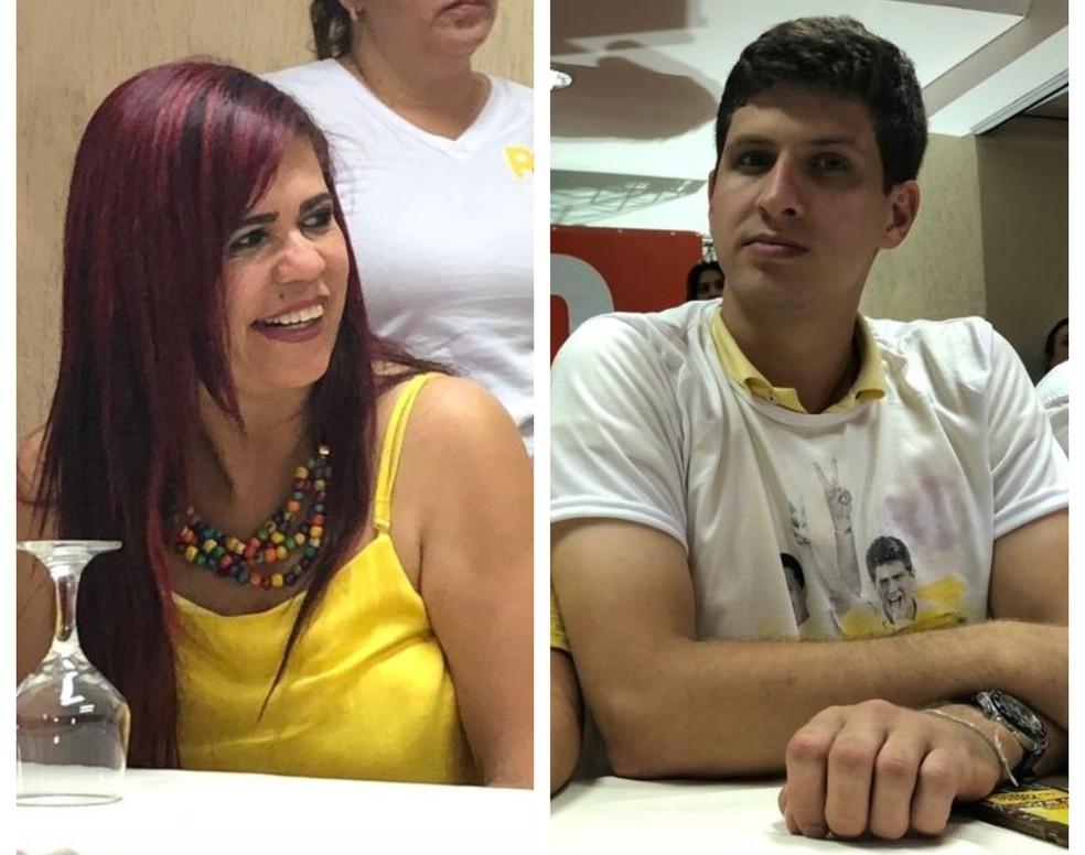 Gleide Ângelo e João Campos, do PSB, foram os deputados mais eleitos nas esferas estadual e federal, respectivamente — Foto: Marina Meireles/G1