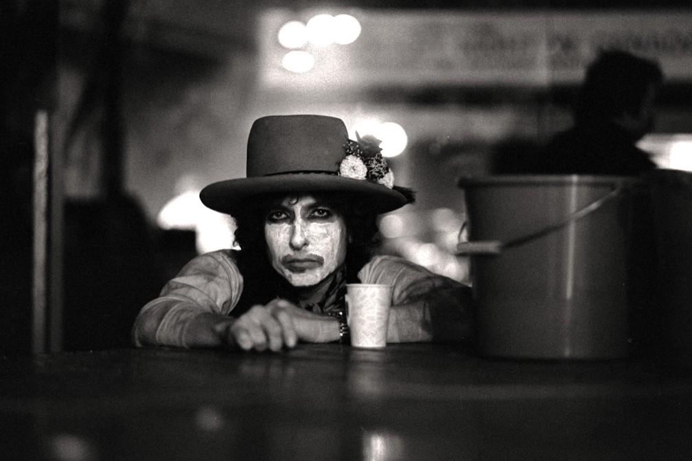 Cena do filme 'Rolling Thunder Revue: A Bob Dylan Story By Martin Scorsese' — Foto: Divulgação/Netflix