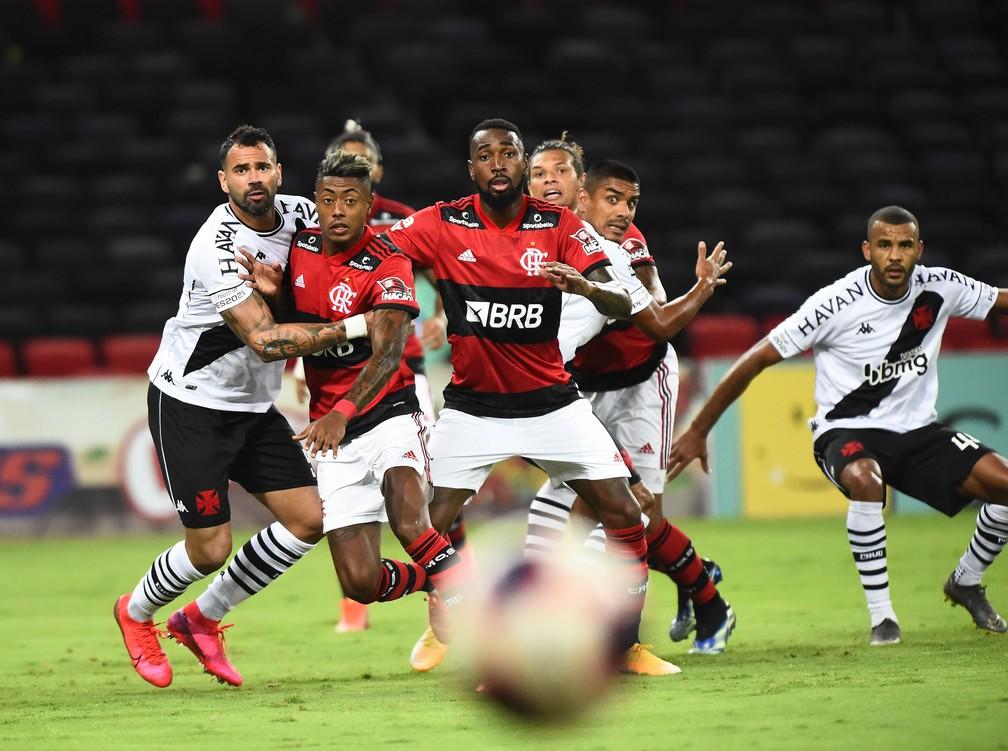 Flamengo x Vasco — Foto: André Durão