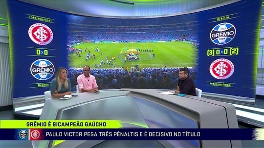 Ana Thaís elogia coragem de André ao cobrar pênalti do título para o Grêmio