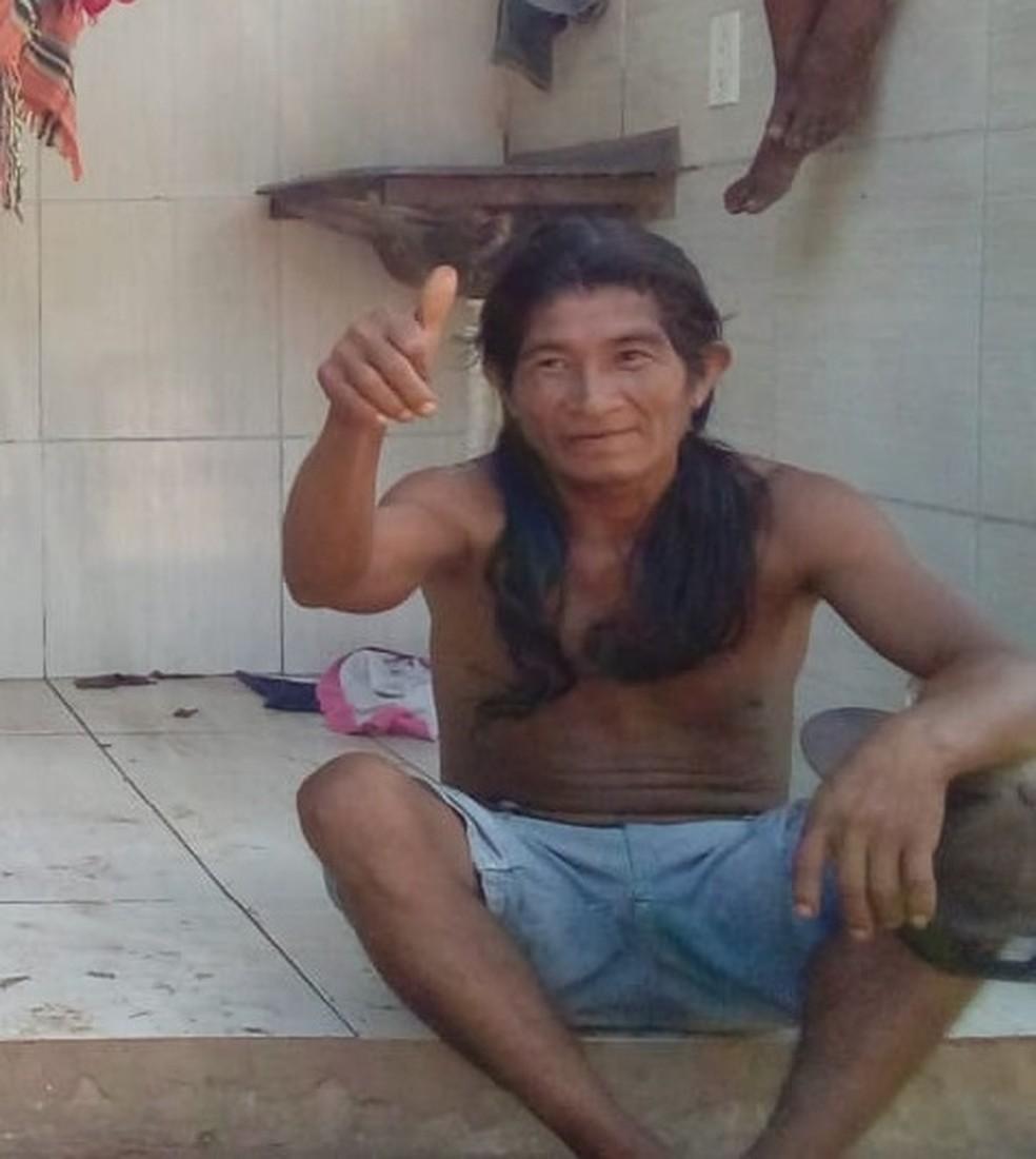 Raimundo Guajajara morreu durante o ataque a índios em Jenipapo dos Vieiras no Maranhão — Foto: Divulgação/Apib