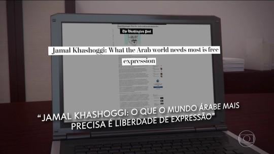 Último texto de jornalista sumido defende liberdade nos países árabes