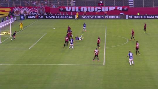 Melhores momentos de Vitória 1 x 1 Cruzeiro