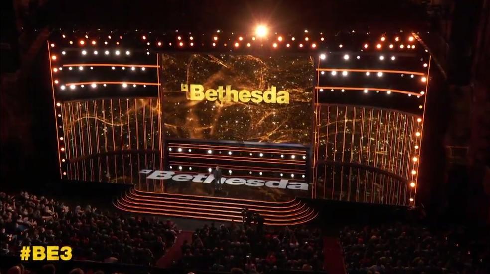 Conferência da Bethesda na E3 2019 — Foto: Reprodução/Bethesda