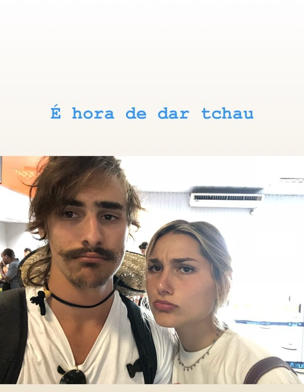Bruno Montaleone e Sasha (Foto: Reprodução/Instagram)