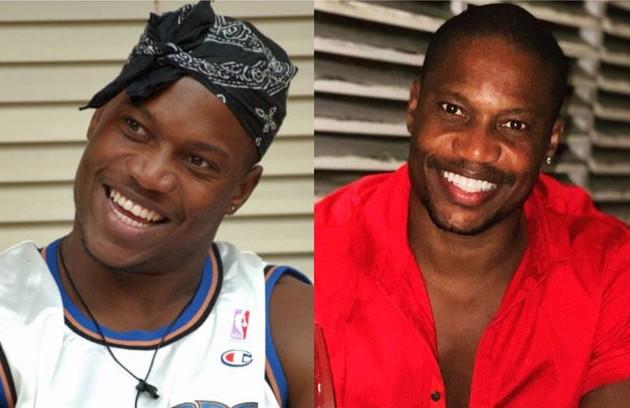 """Alan, do """"BBB"""" 3, era jogador de basquete. Após o programa virou ator, rapper, modelo e relações públicas. Em 2016, fez o filme """"Berenice procura"""" (Foto: TV Globo - Reprodução)"""
