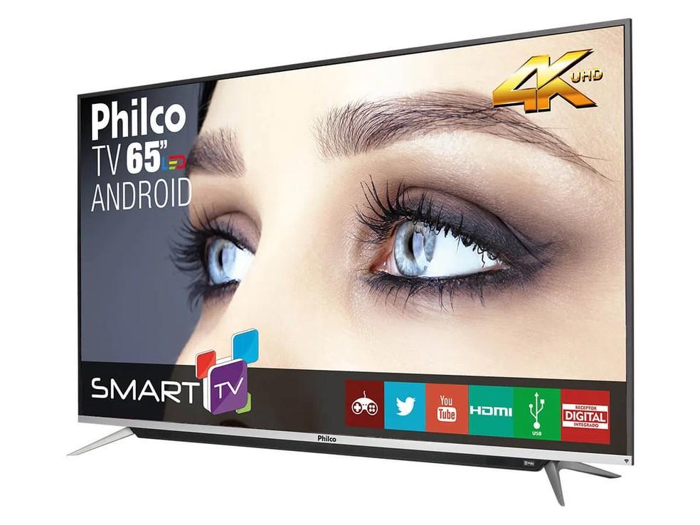 Sistemas mais completos, como Android TV, garantem oferta maior de conteúdo — Foto: Divulgação/Philco