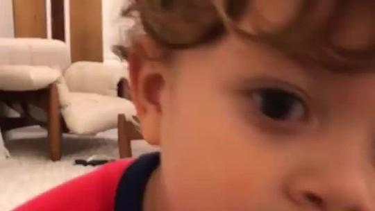 """Nem relembra tempos de Flu com filho: """"Ensino a ser um verdadeiro tricolor"""""""
