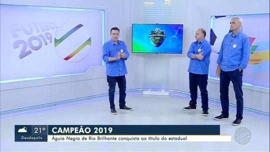 Águia Negra conquista título do Campeonato Sul-Mato-Grossense 2019