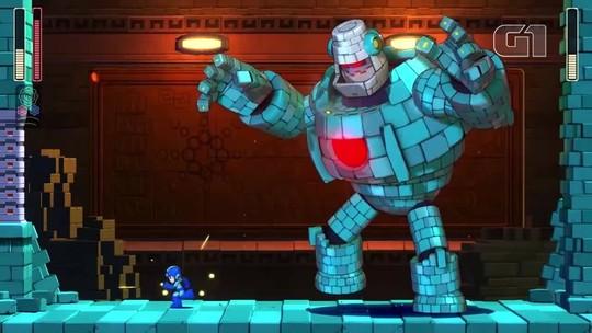 'Mega Man 11' se atualiza para agradar novatos e veteranos; G1 jogou