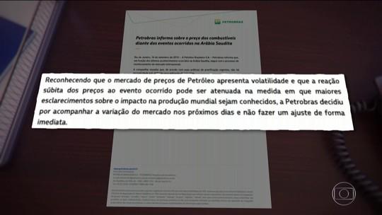'Petróleo quem resolve é a Petrobras', diz Guedes