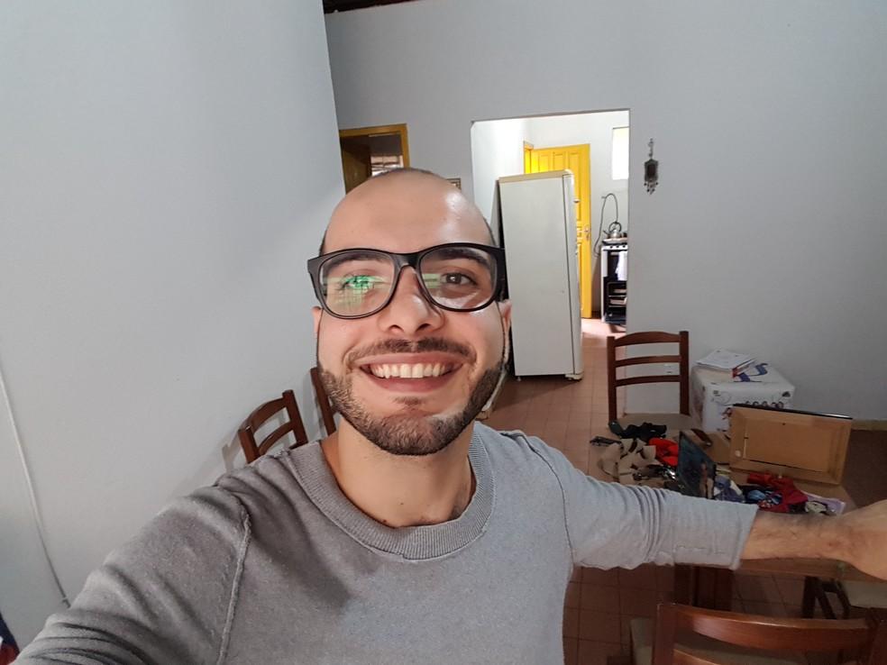 Só faltou a gravatinha do Mahmoud! (Foto: Gshow)