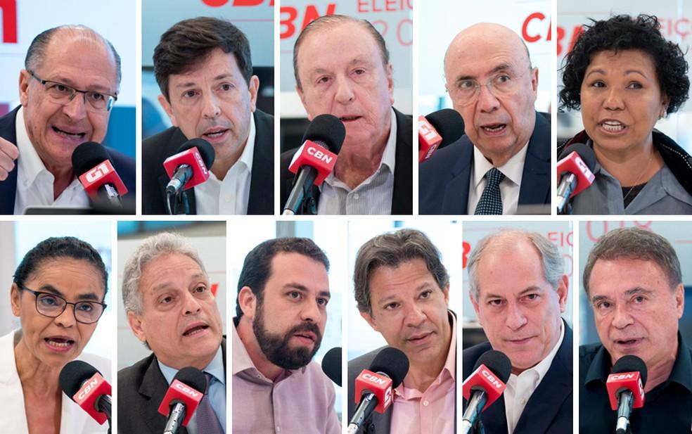 Onze candidatos à Presidência dizem as propostas para combater a violência no país — Foto: Marcelo Brandt/G1