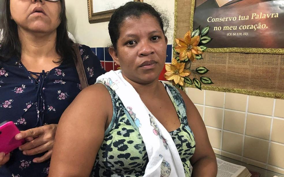 Morando no Grande Recife, Milena Milagros Salazar se preocupa com familiares na Venezuela (Foto: Pedro Alves/G1)